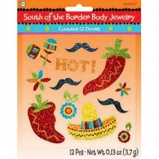 Fiesta South of the Border Body Costume Accessorie