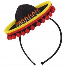 Mexican Fiesta Sombrero Headband Head Accessorie