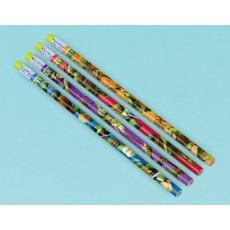 Teenage Mutant Ninja Turtles Pencil Favours Pack of 12