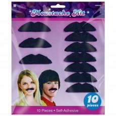 Disco & 70's Disco Fever Moustaches Head Accessories