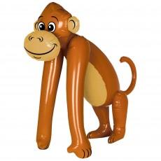Jungle Animals Party Decorations - Shaped Balloon Jumbo Monkey