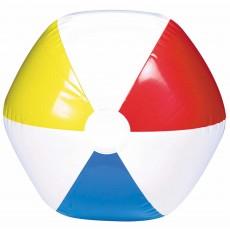 Hawaiian Luau Primary Colours Inflatable Beach Ball Shaped Balloon