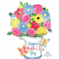 Mother's Day Multi-Balloon Pitcher Garland Shaped Balloon