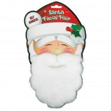 Christmas Party Supplies - Santa Facial Hair Beard & Moustache Set