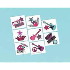 Rocker Princess Tattoo Favours