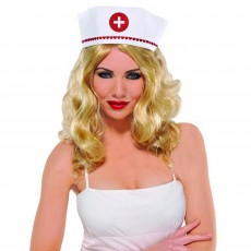 Careers Glittered Nurse Hat Costume Accessorie