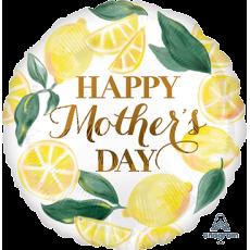Mother's Day Standard HX Lemons Foil Balloon