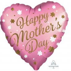 Mother's Day Jumbo HX Satin Infused Shaped Balloon