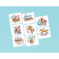 Spirit Riding Free Party Supplies - Favours Tattoos