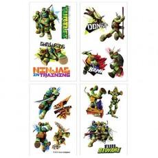 Teenage Mutant Ninja Turtles Tattoo Favours 5cm x 4cm 8 Tattoos