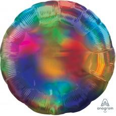 Rainbow Party Decorations - Foil Balloon Std Iridescent Rainbow