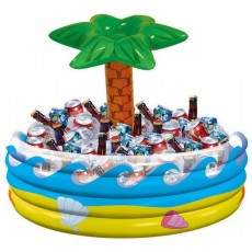 Hawaiian Luau Inflatable Tropical Palm Tree Cooler