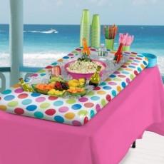 Multi Coloured Inflatable Buffet Cooler 137cm x 55cm