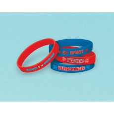 Spider-Man Assorted Colours Ultimate  Rubber Bracelet Favours