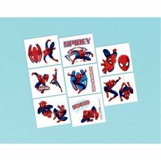 Spider-Man Ultimate  Tattoo Favours