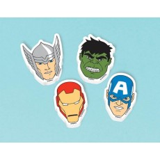 Avengers Assorted Colours Assemble Mini Erasers Favours