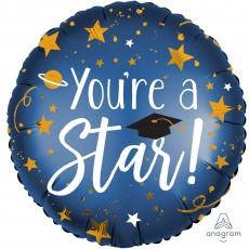 Graduation Standard XL Grad Cap Foil Balloon