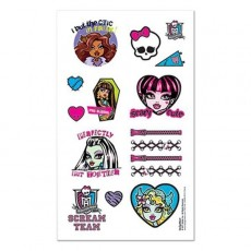 Monster High Tattoos Favours