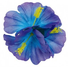 Hawaiian Luau Cool Hibiscus Hair Barrette Head Accessorie