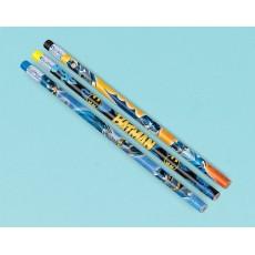 Batman Pencils with Eraser End Favours
