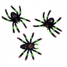Halloween Plastic Spiders Favours