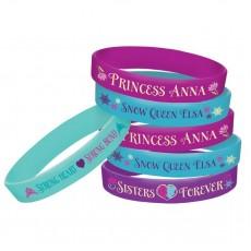 Disney Frozen Rubber Bracelets Favours Pack of 4