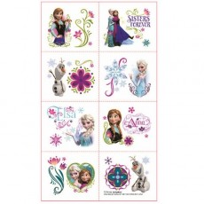 Disney Frozen Tattoo Favours