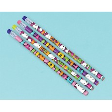 Hello Kitty Rainbow Pencil Favours Pack of 12