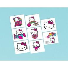 Hello Kitty Rainbow Rainbow Tattoo Favours