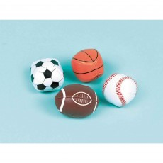 Sports Soft Balls Favours Pack of 12