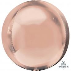 Pink Rose Gold Jumbo Shaped Balloon