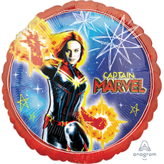 Captain Marvel Standard HX Foil Balloon