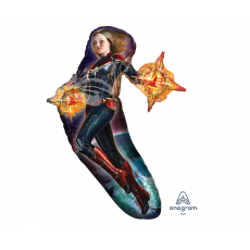Captain Marvel SuperShape Shaped Balloon