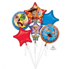 Toy Story 4 Bouquet Foil Balloons