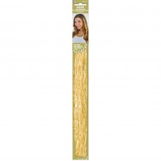 Gold Party Supplies - Hair Extensions