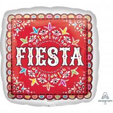 Mexican Fiesta Standard HX Papel Picado Fiesta Shaped Balloon