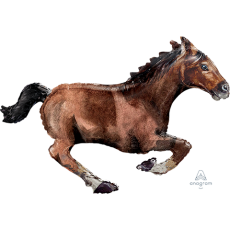 Horse Racing SuperShape Galloping Horse Shaped Balloon