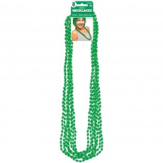 Green Party Supplies - Metallic Necklace