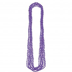 Purple Metallic Necklace Jewellery