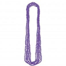 Purple Party Supplies - Metallic Necklace