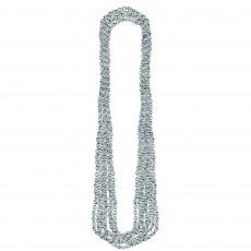 Silver Party Supplies - Metallic Necklace