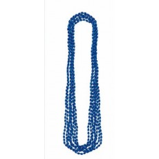 Blue Party Supplies - Metallic Necklace Navy Blue