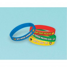 Paw Patrol Rubber Bracelet Favours