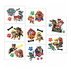 Paw Patrol Tattoo Favours