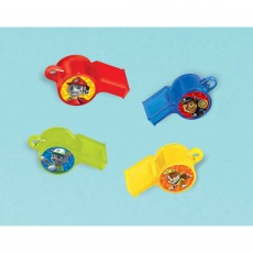 Paw Patrol Whistle Favours