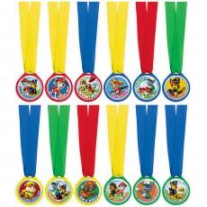 Paw Patrol Mini Medal Awards Pack of 12