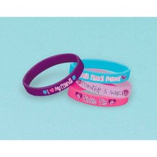 My Little Pony Friendship Rubber Bracelets Favours