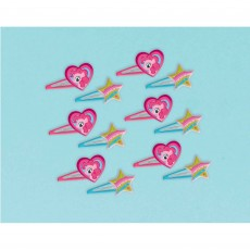 My Little Pony Hearts & Stars Hair Clips Favours