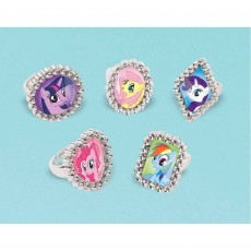 My Little Pony Friendship Jewel Rings Favours
