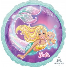Barbie Mermaid Standard HX Foil Balloon
